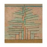 Pine Tree, 1932 Gicléetryck av Paul Klee