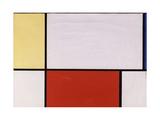 Composition, 1927 Giclee-trykk av Piet Mondrian