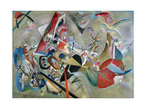 In the Grey, 1919 Lámina giclée por Wassily Kandinsky