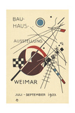 Postcard for the Bauhaus Exhibition, July - September 1923 Lámina giclée por Wassily Kandinsky