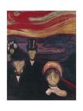 Anxiety, 1894 Giclée-vedos tekijänä Edvard Munch