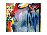 Improvisation No. 19, 1911 Giclée-tryk af Wassily Kandinsky