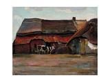 Brabant Farmyard, 1904 Lámina giclée por Piet Mondrian