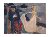 Separation, 1896 Giclee-trykk av Edvard Munch