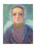 Zeeland Little Girl; Zeeuws Meisje, 1909-1910 Lámina giclée por Piet Mondrian