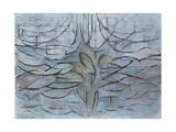 Flowering Appletree, 1912 Giclée-trykk av Piet Mondrian