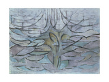 Flowering Appletree, 1912 ジクレープリント : ピエト・モンドリアン