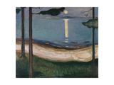 Moonlight, 1895 Giclee-vedos tekijänä Edvard Munch