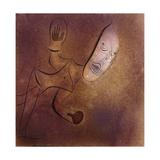 Brutal Pierrot; Brutaler Pierrot, 1927 Lámina giclée por Paul Klee