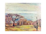 Landscape, 1905 Giclée-vedos tekijänä Edvard Munch