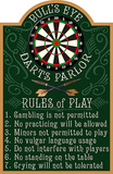 Darts Wood Sign