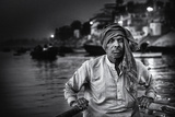Nights on the Ganges Photographic Print by Piet Flour