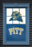 University of Pittsburgh Panthers Dual WOWindow Poster Window Decal