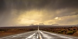Strom in Monument Valley Photographic Print by Javier De