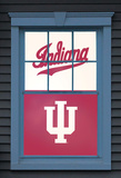University of Indiana Indiana Hoosiers Dual WOWindow Poster Window Decal