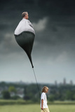 Walking Grandfather (Lol) Photographic Print by Ben Goossens