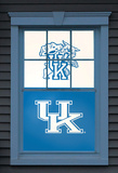 University of Kentucky Wildcat Dual WOWindow Poster Window Decal