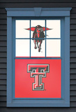 Texas Tech University The Masked Rider Dual WOWindow Poster Window Decal