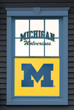 University of Michigan Wolverine Dual WOWindow Poster Window Decal