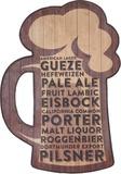 Booze Wood Sign