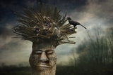 Punk Winter Cut. Photographic Print by Ben Goossens