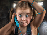Just a Disturbing Phone Call Photographic Print by John Wilhelm