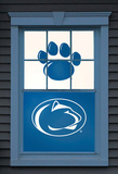 Penn State Nittany Lions Dual WOWindow Poster Window Decal