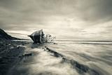 Defeated by the Sea Reproduction photographique par Inigo Barandiaran