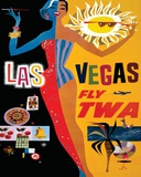 Las Vegas Tin Sign
