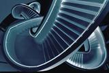 Blue Stair Photographic Print by Henk Van
