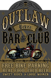 Outlaw Wood Sign