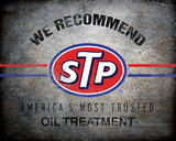 We Recommend STP Tin Sign