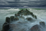 Breakwater Photographic Print by Dmitry Kulagin
