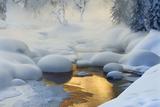 Siberia. -37°C (-35°F) Photographic Print by Dmitry Dubikovskiy
