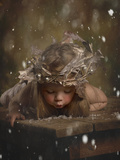 Snow Fairy 2 Photographic Print by Lori Lynn