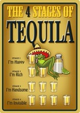 Tequila - 4 Stages Tin Sign