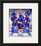 New York Rangers 2012-13 Team Composite Framed Photographic Print