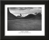 St Mary's Lake Glacier National Park Prints by Ansel Adams