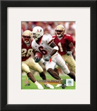 Miami Hurricanes - Santana Moss Photo Framed Photographic Print