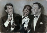 Rat Pack Portrait Tin Sign