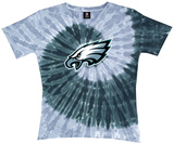 Ladies: NFL-Eagles Spiral V T-Shirt