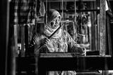 Songket Maker Photographic Print by Erwin Astro