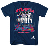 MLB/Kiss-Kiss/Braves Dressed T-Shirt