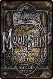 Moonshine Jar Tin Sign