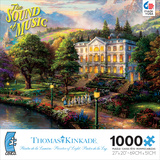 Thomas Kinkaid Movie Classics - Sound of Music 1000 Piece Jigsaw Puzzle Jigsaw Puzzle