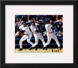 Bernie Williams - Multi-Exposure Framed Photographic Print