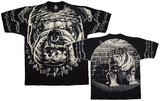 Fantasy-Cats Suck Bull Dog Shirt