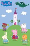 Peppa Pig Fairytale Print
