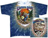 Grateful Dead-Banjo Tie Dye Shirt