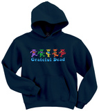 Grateful Dead-Dancing Bear Hoodie Hettejakke